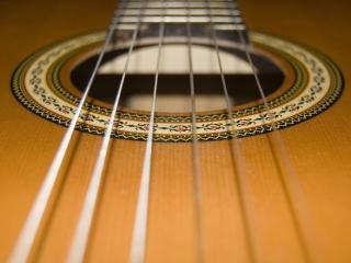 обои Гитарные струны фото
