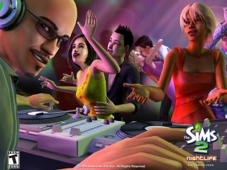 обои The Sims 2: Nightlife фото
