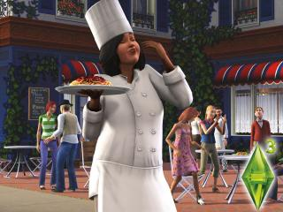 обои The Sims 3 - повариха фото