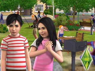 обои The Sims 3 - дети фото
