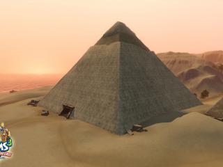 обои The Sims 3 - пирамида фото
