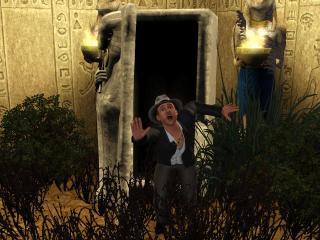 обои The Sims 3 - расхититель гробниц фото