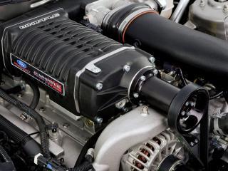 обои для рабочего стола: Ford mustang AV8R 687 - двигатель