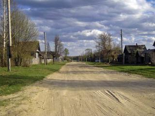 обои Деревенская дорожка фото