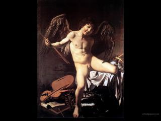 обои Caravaggio - Amor Victorious фото
