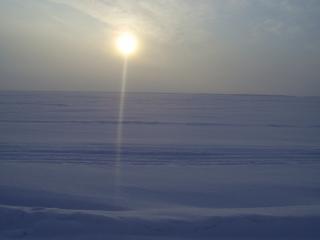 обои Зимняя река фото
