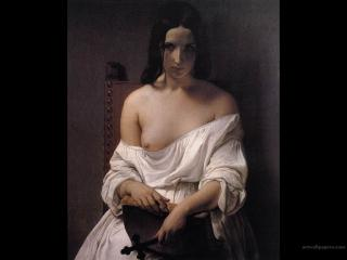 обои Francesco Hayez - Meditation on the History of Italy фото