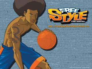 обои Freestyle - игрок со стрижкой афро фото