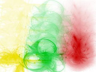 обои Yellow,green and red фото