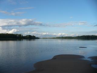 обои На реке Оби фото