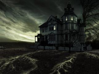 обои Таинственый дом фото