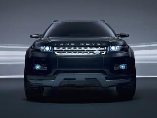 обои Land Rover LRX Concept вид спереди фото