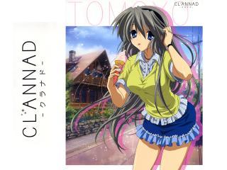 обои Clannad Tomoyo фото