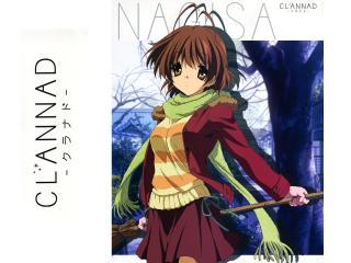 обои Clannad Nagisa фото