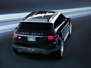 обои Land Rover LRX Concept  - вид сзади сверху фото