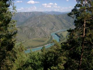 обои Катун, Алтай фото