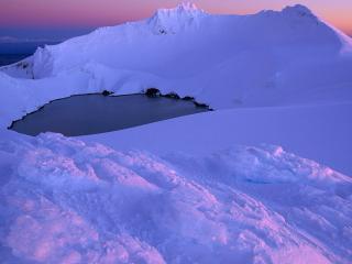 обои Новая Зеландия, вулкан Руапеху, Национальный парк фото
