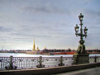 обои Фонари в Северной Столице России фото