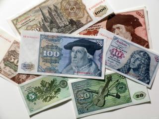 обои Немецкая валюта фото