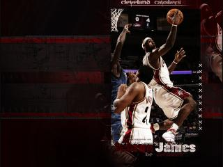обои Lebron James be Prapared фото