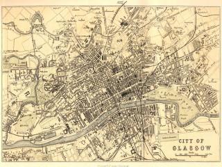 обои Карта Глазго фото