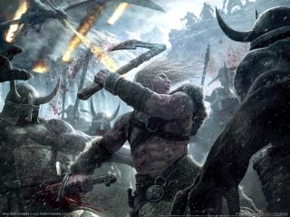 обои Viking Battle for Asgard фото