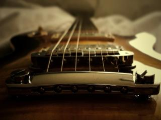 обои Струны гитары - 6 струн фото