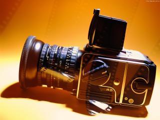 обои Кинокамера отражает киноленты фото
