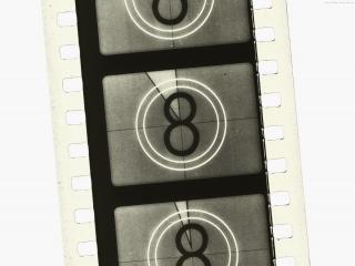 обои Черно-белая Ретро-кинолента фото