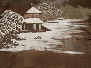 обои Кимоно - китайская пагода фото