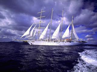 обои Корабль несет прибыль и крупный куш фото