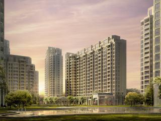 обои Архитектурный эскиз многоэтажек фото