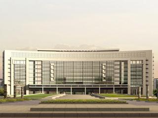 обои Архитектурный эскиз национального концертного зала фото