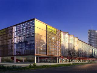 обои Архитектурный эскиз шоппинг центра фото