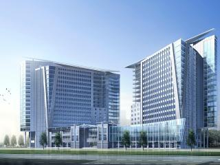 обои Архитектурный эскиз здания министерства здравоохранения фото