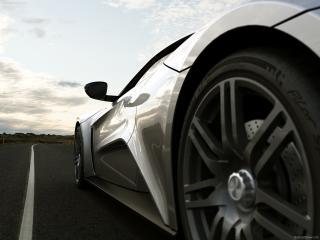 обои Zenvo ST1 у заднего колеса фото