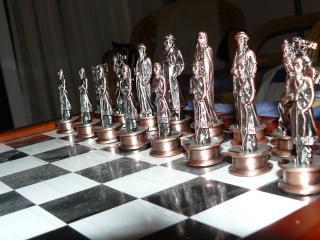обои Команда противника в шахматы фото
