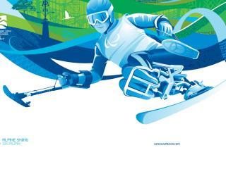 обои Sport Vancouver 2010 Wintersports фото