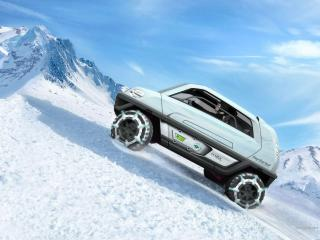 обои Magna Steyr MILA Alpin Concept на гору фото