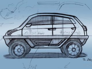 обои Magna Steyr MILA Alpin Concept рисунок фото