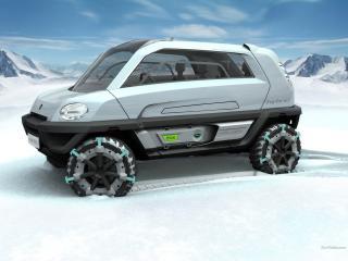 обои Magna Steyr MILA Alpin Concept сбоку фото