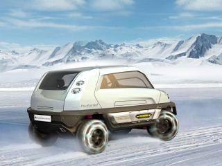 обои Magna Steyr MILA Alpin Concept скорость фото