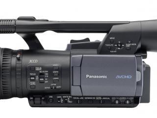 обои Panasonic AG-HMC151E сбоку фото