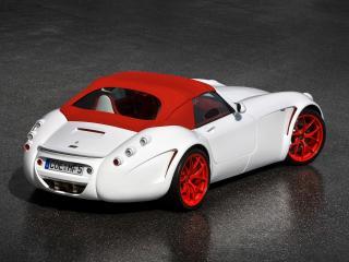 обои Wiesmann Roadster GT MF5 2010 зад фото
