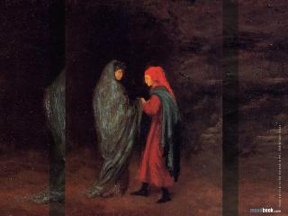 обои Edgar Degas - Dante and Virgil at the Entrance to Hell фото