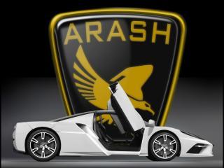 обои 2009 Arash AF-10 с логотипом фото
