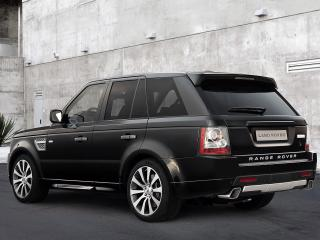 обои 2010 Land Rover - Range Rover Sport Autobiography Limited Edition зад фото