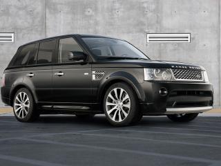 обои 2010 Land Rover - Range Rover Sport Autobiography Limited Edition перед фото