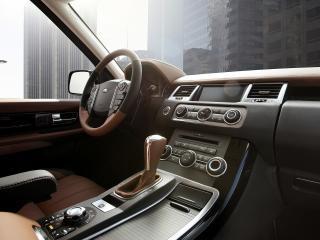 обои 2010 Land Rover - Range Rover Sport Autobiography Limited Edition салон фото