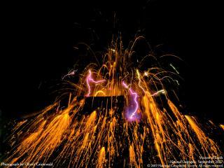 обои Извергающийся Тавурвур в Папуа-Новая Гвинея фото